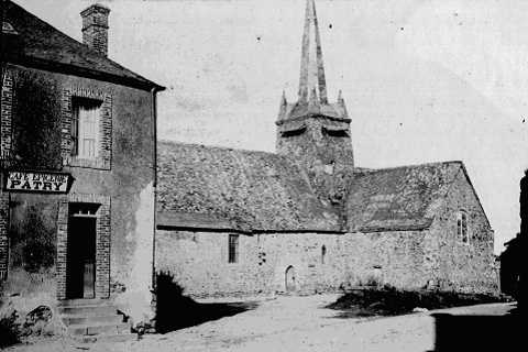 L'ancienne église de Saint-Georges Buttavent